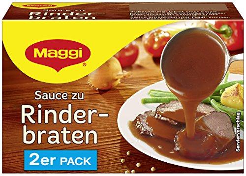 Maggi Sauce zu Rinderbraten, 2er Pack, ergibt 2 x 250 ml