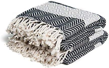 Design Luxury Turkish Bath Geometr with Manufacturer Popular standard regenerated product Towel Cotton