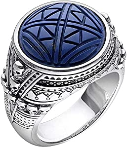 Thomas Sabo Herren-Ringe 925_Sterling_Silber mit - Ringgröße 66 TR2204-534-1-66