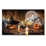 OCRTN Halloween Karneval Poster und Druck auf Leinwand