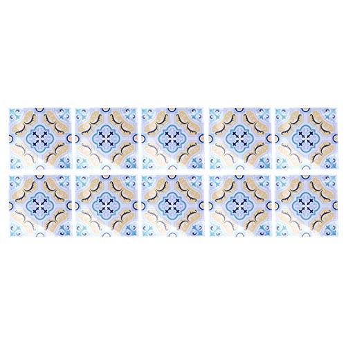 Etiquetas engomadas de la pared, prueba de aceite de la etiqueta engomada del azulejo para la mujer para la sala(10)