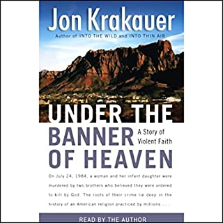 Under the Banner of Heaven audiobook cover art