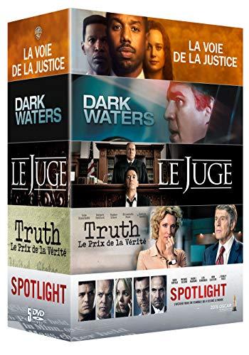 Coffret 5 films : La Voie de la justice + Le Juge + Truth + Spotlight + Dark Waters [Francia] [DVD]