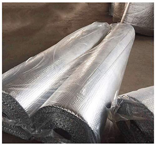 Autoadhesivo Lámina Térmica 4mm Rollo Aislante Térmico De Aluminio Aislamiento Termico Aluminio Para Techo Pared Y Fachada Aluminio Doble Aislamiento Coche Evitar Calor En Su Int(Color:4mm,Size:1x30m)