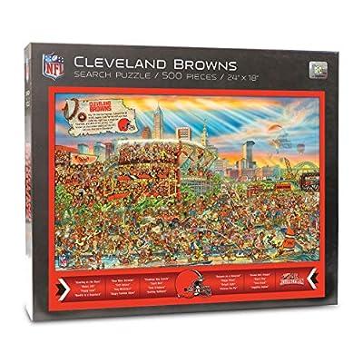 NFL Cleveland Browns Joe Journeyman Puzzle - 500-piece