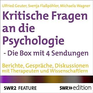 Kritische Fragen an die Psychologie - Die Box mit 4 Sendungen Titelbild