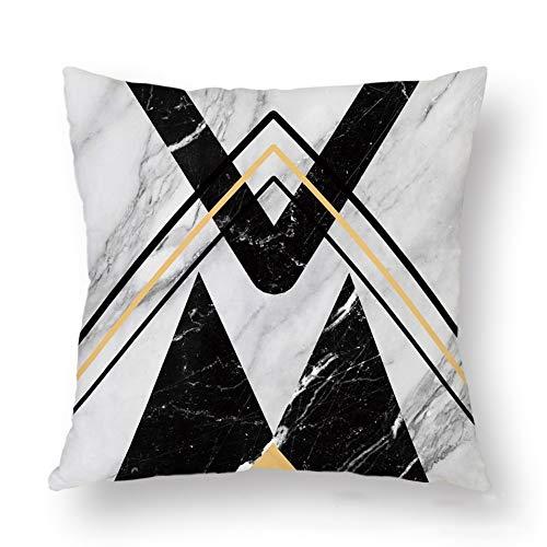 WWZ Pillowcase Dekokissen Abdeckungen Kissen Dekorative Boomerang Kinder Baby-Student Jungen-Mädchen-Teenager Wohnkultur Bewerben (Größe: 45x45cm) (Color : Multi-Colored)