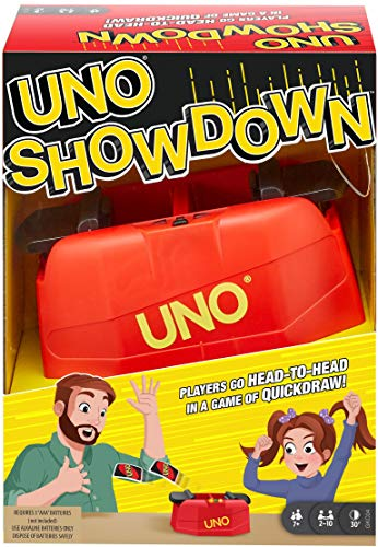 Mattel Games Uno Showdown Family Card Game For Kids 7 Years Old & Up GKC04