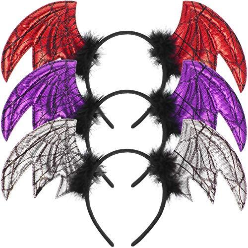 COM-FOUR® Diadeem Halloween- en Mardi Gras-hoofdband - hoofdband in verschillende varianten - kostuumaccessoires voor Halloween, Mardi Gras en themafeesten