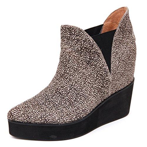 Jeffrey Campbell D2214 Tronchetto Donna Priya beige/Nero Shoe Boot Woman [41]