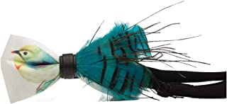 Handmade Bow tie Men's Unique Natural Blue Peacock Feathers Bow tie Wedding Cravat