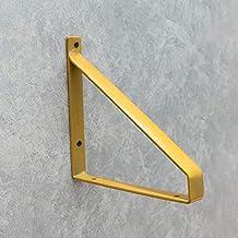 GAXQFEI Wandmontage rekken,DIY plankbeugel,Heavy Duty Iron Metal ondersteunt beugels,Drie kleuren, drie maten (2 stks), Ge...