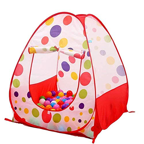 Tech Traders ® Pop UP Children Kids Baby Play Tent PlayHouse Spotty Indoor Outdoor Tale Tent