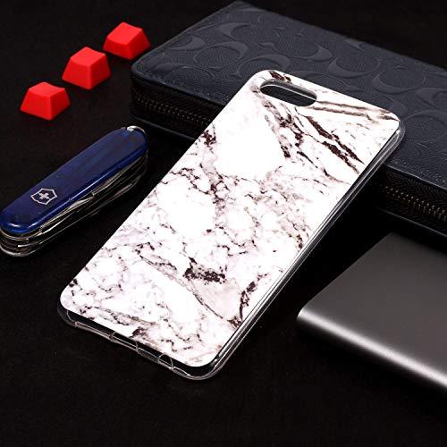 SEYCPHE Huawei Nova 2S Hülle Handyhülle TPU Silikon Weiche Schlank Schutzhülle Handytasche Gummi Dünn Flexibel Case Handy Hülle für Huawei Nova 2S - Marmor Weiß - 4