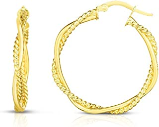 Best 8mm gold hoops Reviews