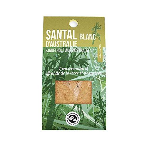 Weißes Sandelholzpulver aus Ost-Australien