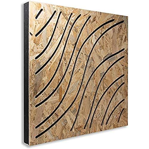 Panel fonoabsorbente Wave Wood de OSB – Forma de Onda – Base de...
