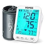 HOMIEE Tensiómetro de brazo, Monitor de Presión Arterial,...