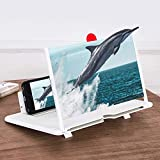 3D Smart Mobile Phone Movies Amplifier, Portable Phone Projector for All Smartphones with All