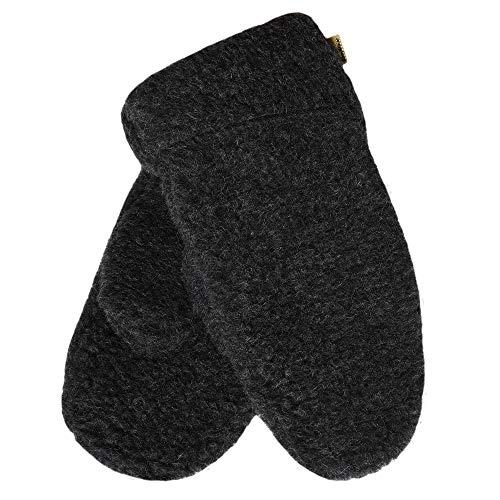SamWo, Guanti da donna/muffole, 100% lana di pecora, misura S