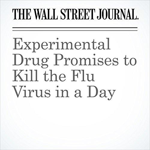 Experimental Drug Promises to Kill the Flu Virus in a Day copertina