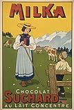 Milka Chocolat Pub, Poster, Reproduktion, Format 50 x 70