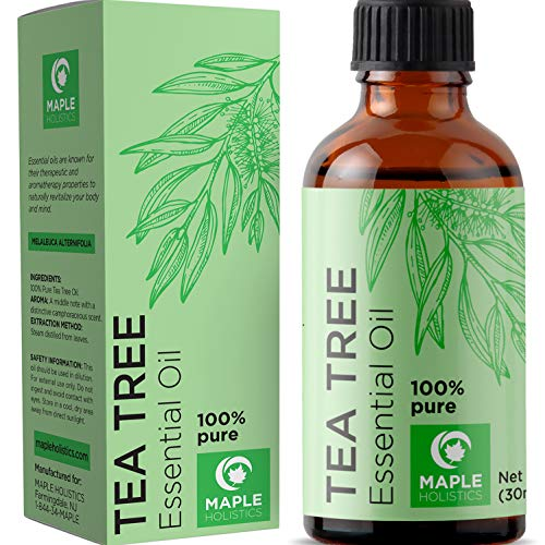 100% Pure Tea Tree Oil Natural Essential Oil