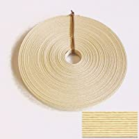 紙バンド手芸用ホビーテープ 30m巻 アイボリー