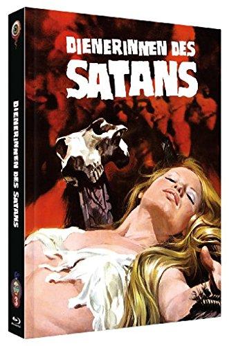 Dienerinnen des Satans uncut [Blu-Ray+DVD] auf 500 limitiertes Mediabook Cover B