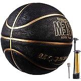 Senston Balon Baloncesto Interior/Exterior Balon de Baloncesto Adulto/Juventud Tamaño 7