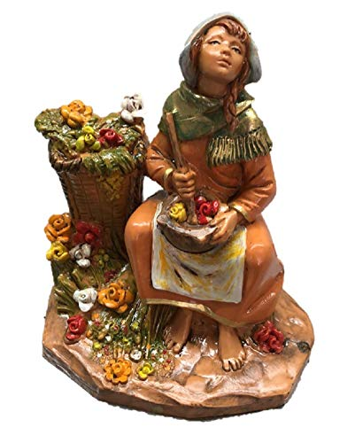 Fontanini 91881 Girl with Flowers, Liliana 5