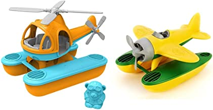 product image for Green Toys Seacopter, Orange & Seaplane, Yellow