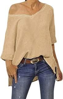 LEKODE Women T-Shirts Fashion Solid Long Sleeve Coat