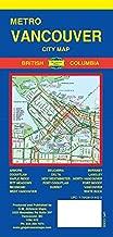 Metro Vancouver City Map, Vancouver Canada