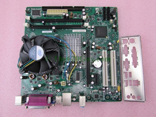 Intel D945GCNL placa base + Pentium Dual Core E2200 2,2 gHz CPU + ventilador placa de e/s