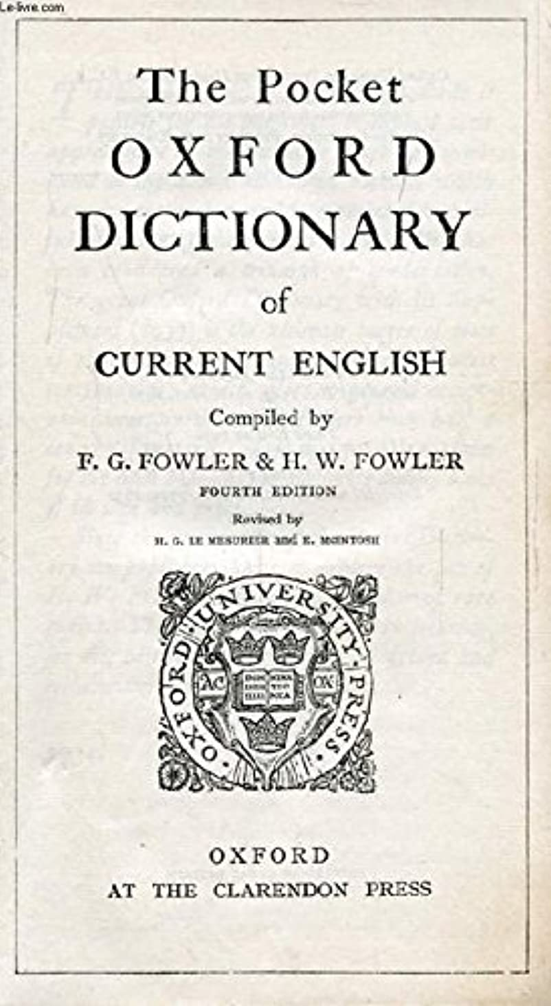 The Shorter Oxford English Dictionary on Historical Principles Third Edition Revised with Addenda