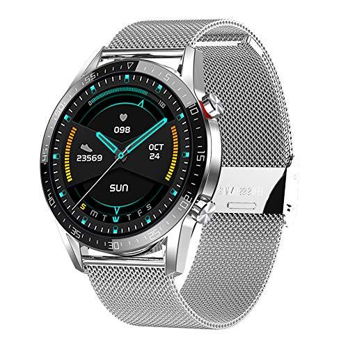 Padgene Reloj Inteligente Impermeable IP68, Smartwatch Deportivo con Llamadas Bluetooth, Pulsera Actividad con Monitor de Sueño, Ritmo Cardíaco, Notificación de Mensaje para Android e iOS
