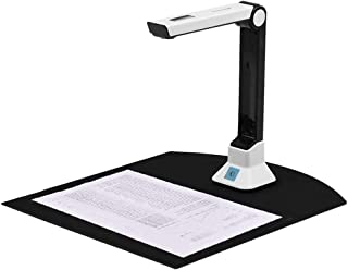 個人用携帯ブックスキャナ書画カメラ8 MPカメラハイ・デフィニションキャプチャA3、PDF/サーチャブルPDF/Wordの/TIFF/Excelへの変換、自動平坦化&デスキューテック、