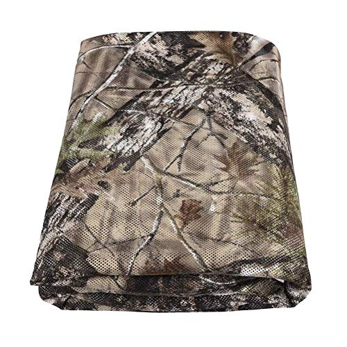 Tongcamo Hunting Blind Material, Camo Netting for Outdoor, Photography, Camping, Concealment, Disguise, Sunshade, Covers