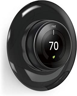 elago Wall Plate Cover for Nest Learning Thermostat 3rd, 2nd, 1st generation (COLOR) - Luxurious Design, Easy Installation, Anti-Discoloration Coated, Soft Finish, Durable Material