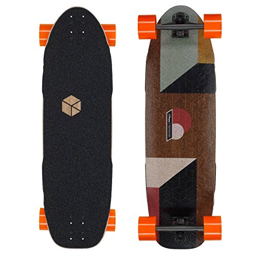 Loaded Truncated Tesseract Longboard Skateboard Complete by Loaded