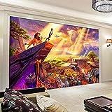 Tapete 3D Vliesstoff Fototapete Der Löwen Hintergrundbild