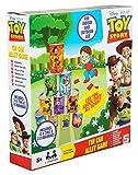 Sambro DTS-7880 Wurfspiel mit Dosen für drinnen und draußen, Disney Pixar Toy Story, mit 10 Blechbüchsen und 3 Bohnensäckchen, bunt