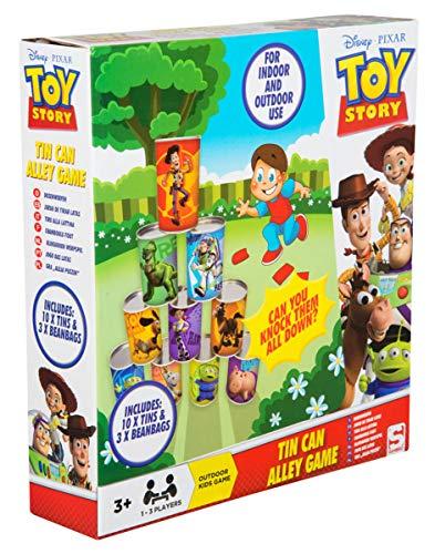 Disney Toy Story 4 Ballwurfspiel Kinder | Garten Spiele Mit 10 Dosen Und 3 Bällen | Spiel Für Garten | Dosen Werfen Kindergeburtstag | Lustige Spiele | Outdoor Spielzeug | Party Spiele