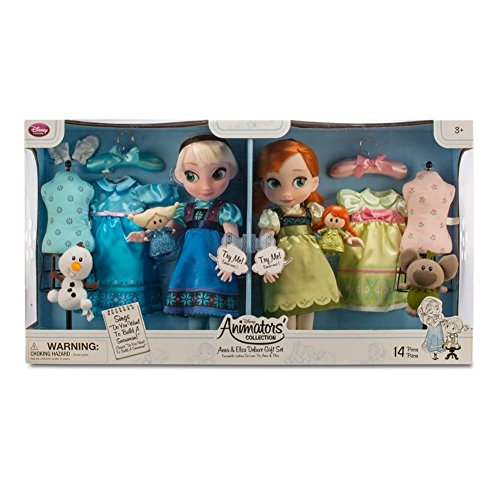 Disney Animators Collection Anna and Elsa Gift Set 2015 by Disney