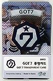 JYP Entertainment GOT7 - Transparent Photo Cards 25pcs [Fan Goods]
