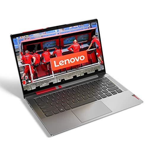 Lenovo Ducati 5 Notebook, Display 14  Full HD IPS, Processore Intel Core i5-1035G1, 1TB SSD, 8GB RAM, Fingerprint Touch, Ducati Color, Windows 10