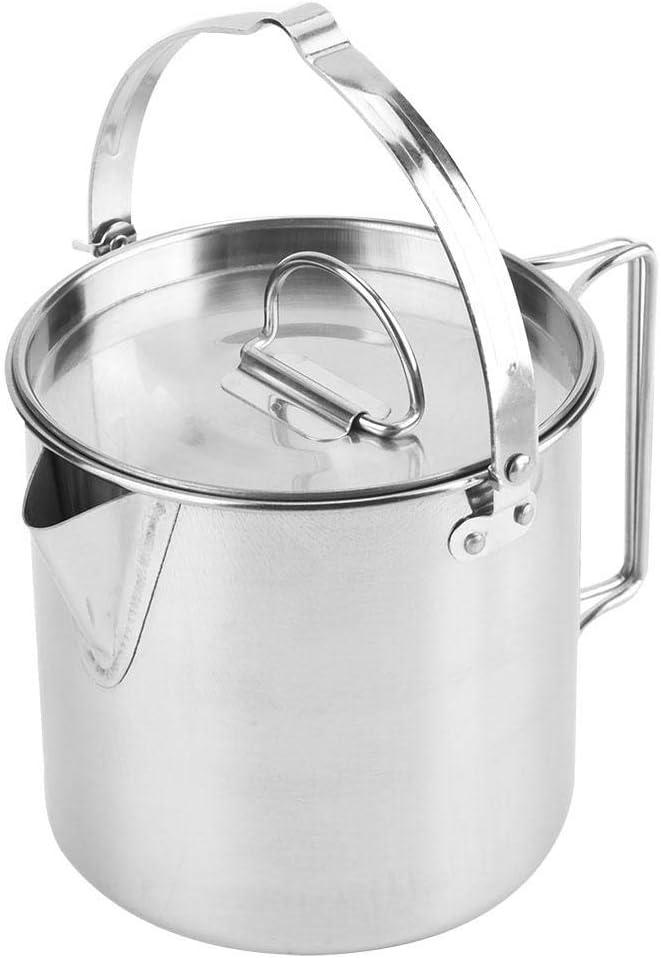 Tea Kettle Camping 2021 model Pot 1.2L C Outlet SALE Pots Cooking