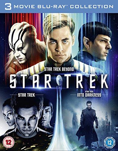Star Trek / Star Trek Into Darkness / Star Trek Beyond [Blu-ray] [2016] UK-Import, Sprache-Englisch...