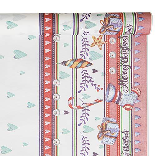 CLASS 10 Mantel de Papel, Multicolor, Grande